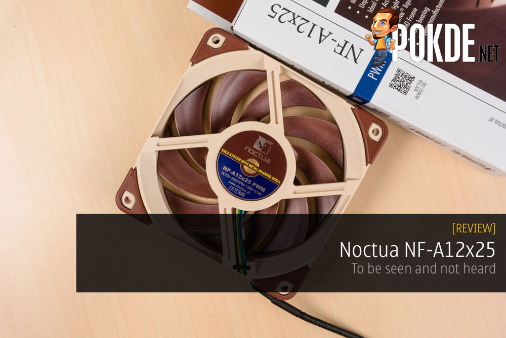 Noctua NF-A12x25 fan review — to be seen and not heard 30