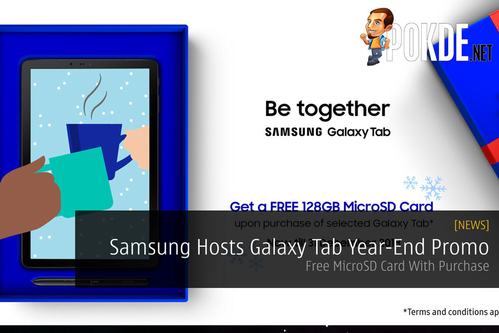 Samsung Hosts Galaxy Tab Year-End Promo — Free MicroSD Card With Purchase 30