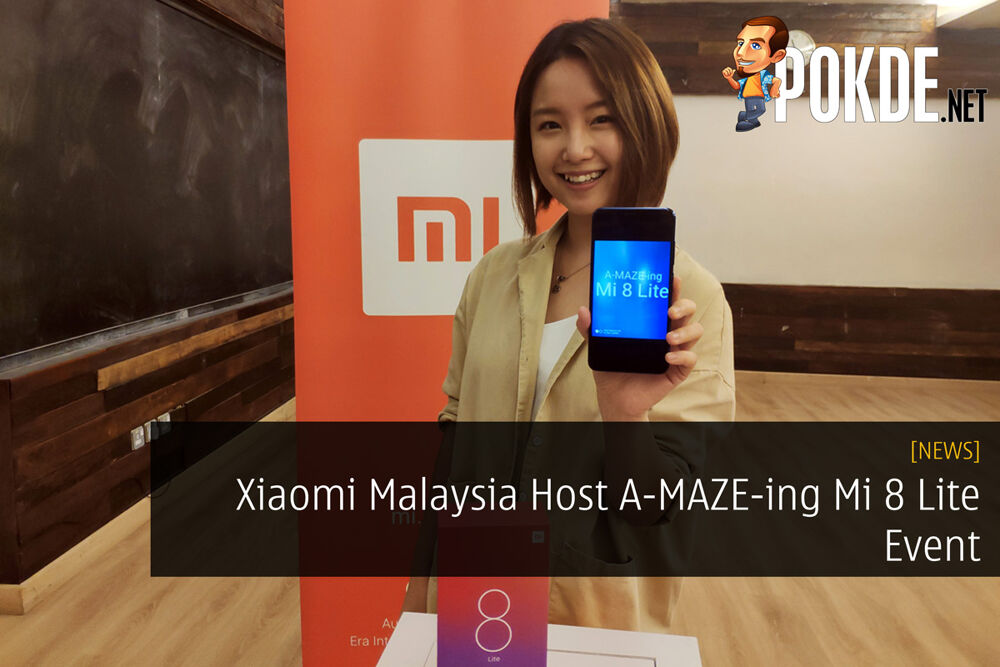Xiaomi Malaysia Host A-MAZE-ing Mi 8 Lite Event 30