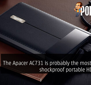 The Apacer AC731 is probably the most stylish shockproof portable HDD ever 35