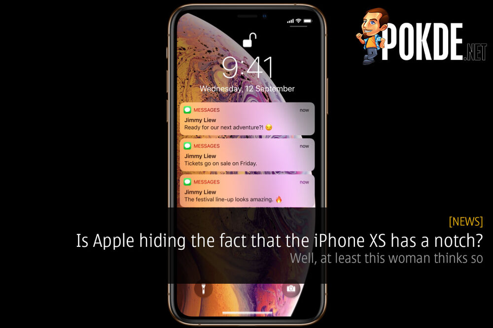 Is Apple hiding the fact that the iPhone XS has a notch? Well, at least this woman thinks so 22