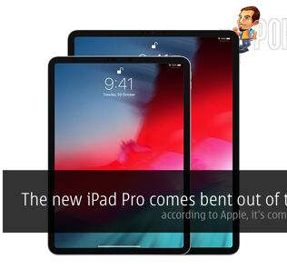The new iPad Pro comes bent out of the box — according to Apple, it's completely fine 32