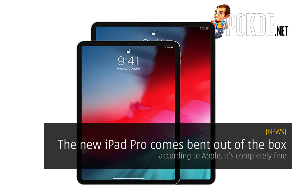 The new iPad Pro comes bent out of the box — according to Apple, it's completely fine 18