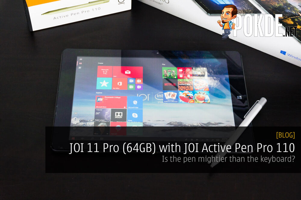 JOI 11 Pro (64GB) with JOI Active Pen Pro 110 — is the pen mightier than the keyboard? 20