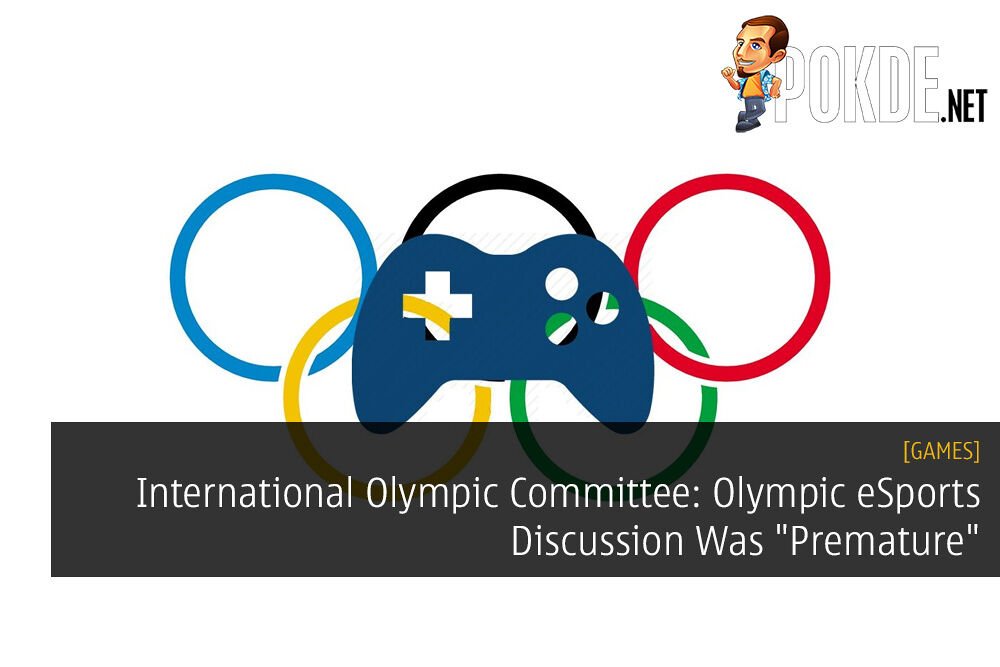 """International Olympic Committee: Olympic eSports Discussion Was """"Premature"""""""