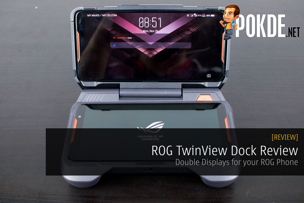 ROG TwinView Dock Review - Double Displays for your ROG Phone 20