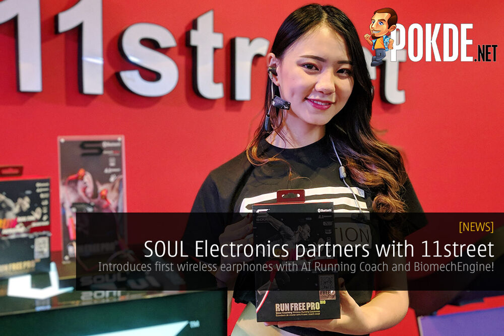 SOUL Electronics partners with 11street — introduces first wireless earphones with AI Running Coach and BiomechEngine! 23