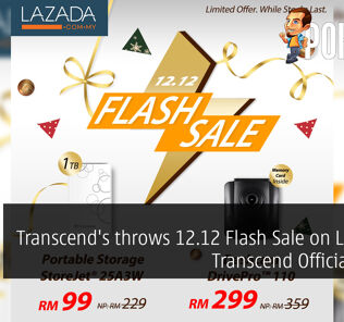 Transcend's throws 12.12 Flash Sale on Lazada's Transcend Official Store! 28