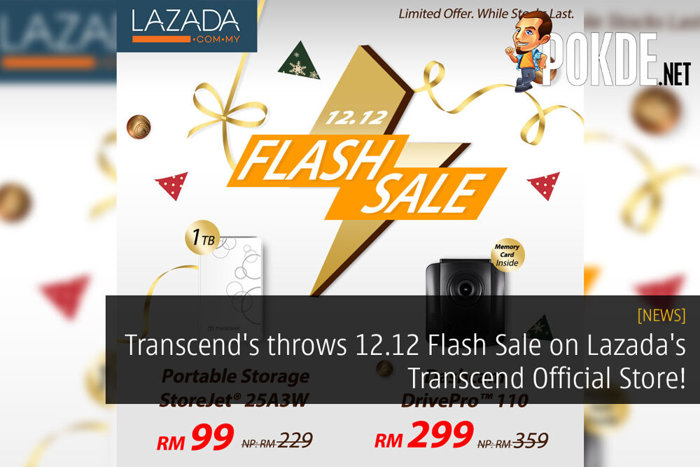 Transcend's throws 12.12 Flash Sale on Lazada's Transcend Official Store! 26