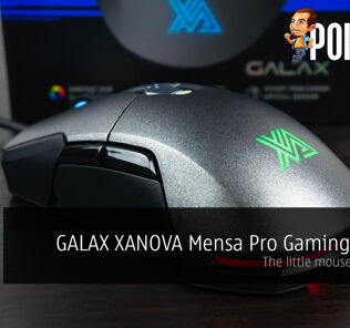 GALAX XANOVA Mensa Pro Gaming Mouse review — the little mouse that could 53