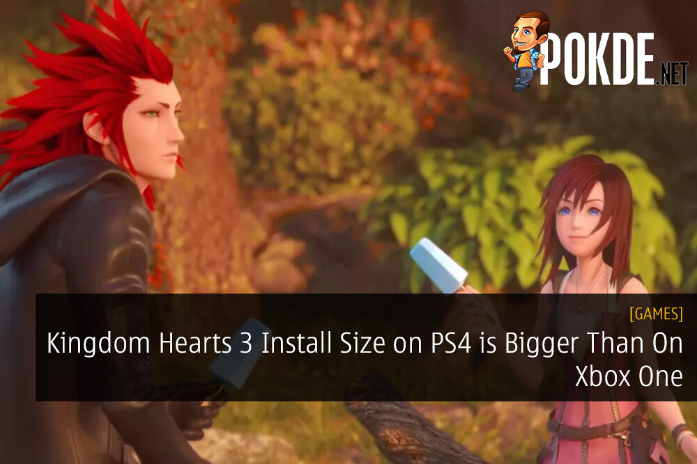 Kingdom Hearts 3 Install Size on PS4 is Bigger Than On Xbox One