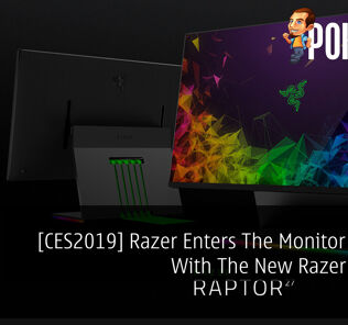 [CES2019] Razer Enters The Monitor Market With The New Razer Raptor 38