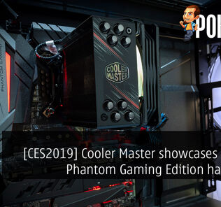 [CES2019] Cooler Master showcases ASRock Phantom Gaming Edition hardware 20