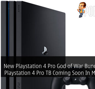 New Playstation 4 Pro God of War Bundle And Playstation 4 Pro TB Coming Soon In Malaysia 24