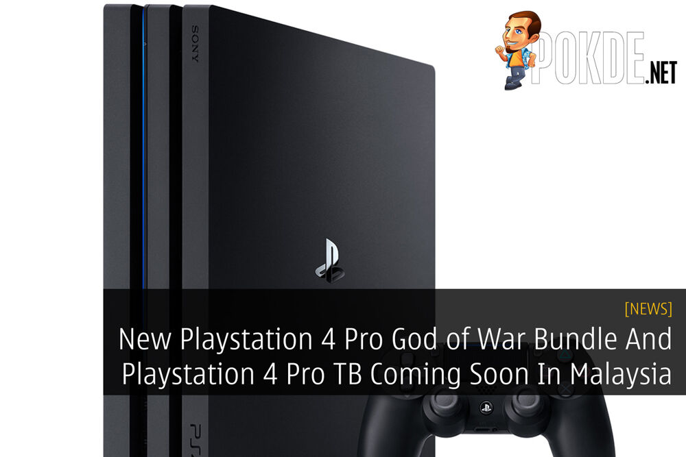 New Playstation 4 Pro God of War Bundle And Playstation 4 Pro TB Coming Soon In Malaysia 30