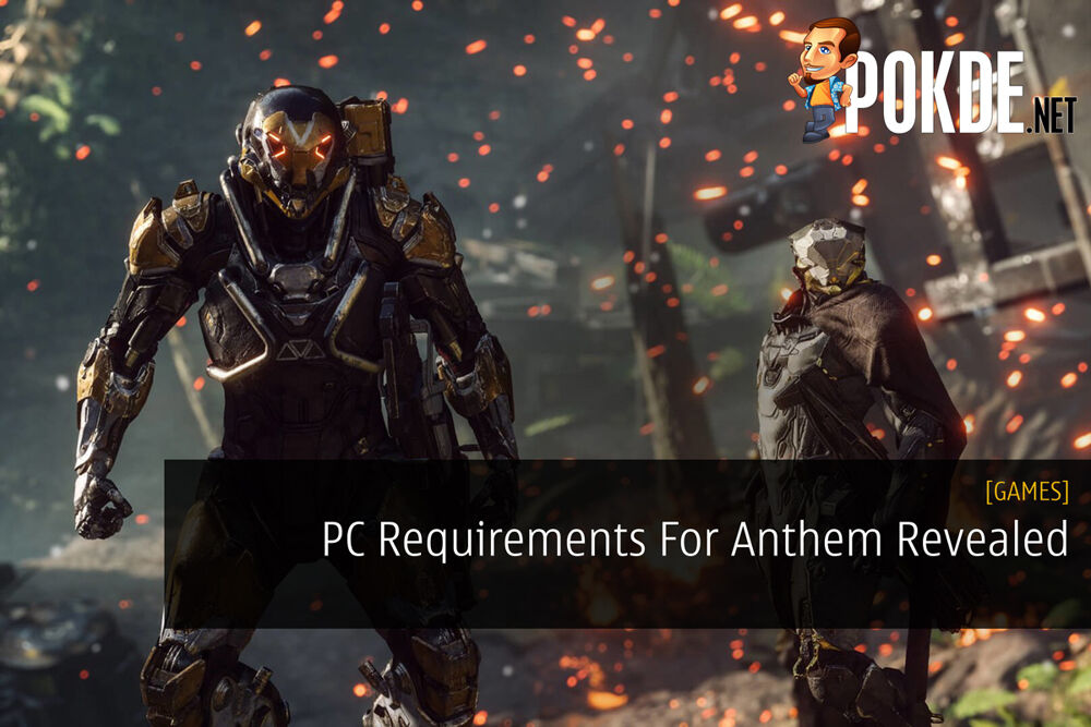 PC Requirements For Anthem Revealed 20