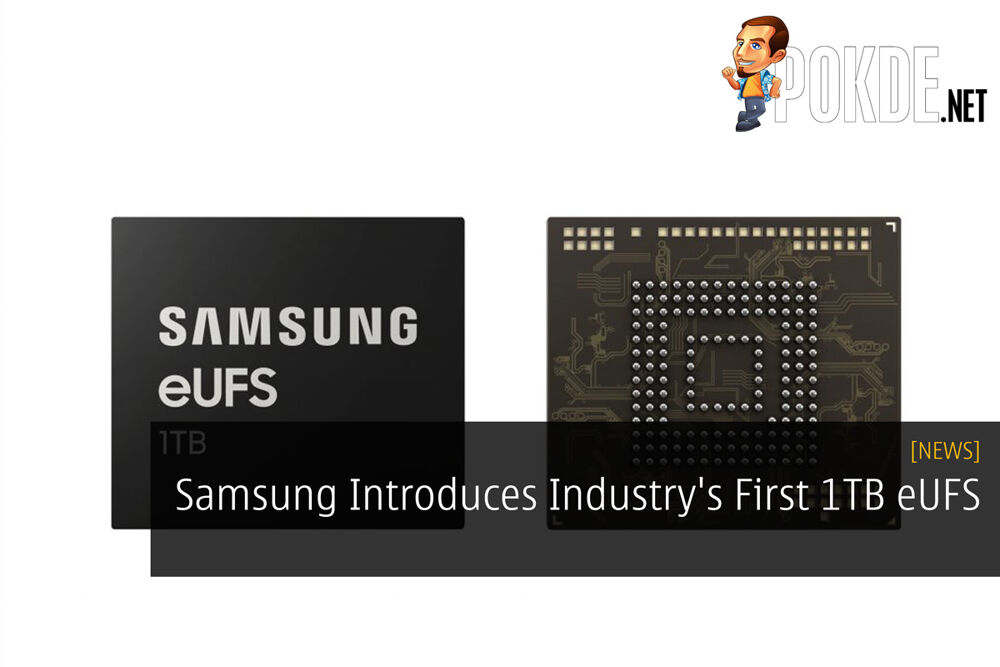 Samsung Introduces Industry's First 1TB eUFS 21