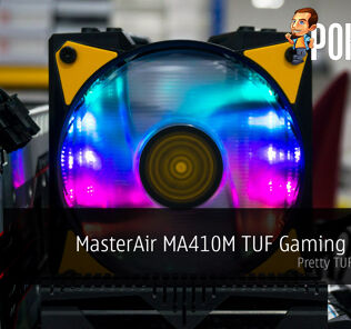 MasterAir MA410M TUF Gaming Edition by Cooler Master review — pretty TUF air cooler! 23