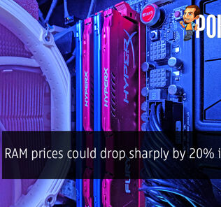 RAM prices could drop sharply by 20% in 2019 31