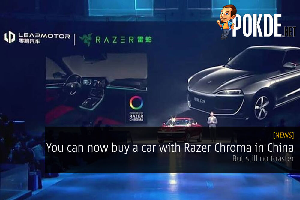You can now buy a car with Razer Chroma in China — but still no toaster 19