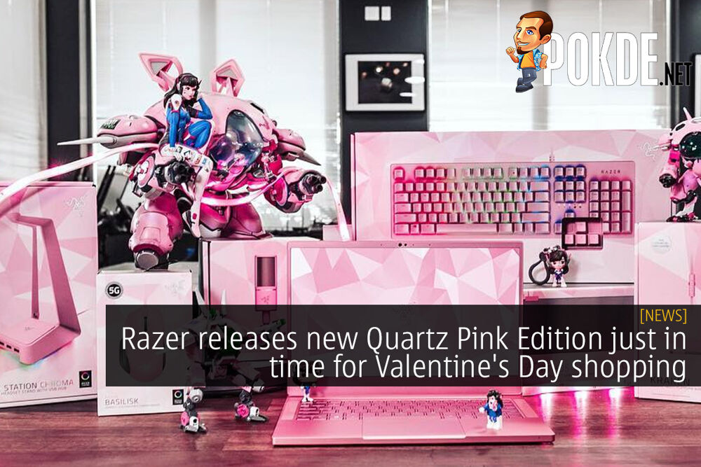 Razer releases new Quartz Pink Edition just in time for Valentine's Day shopping 17