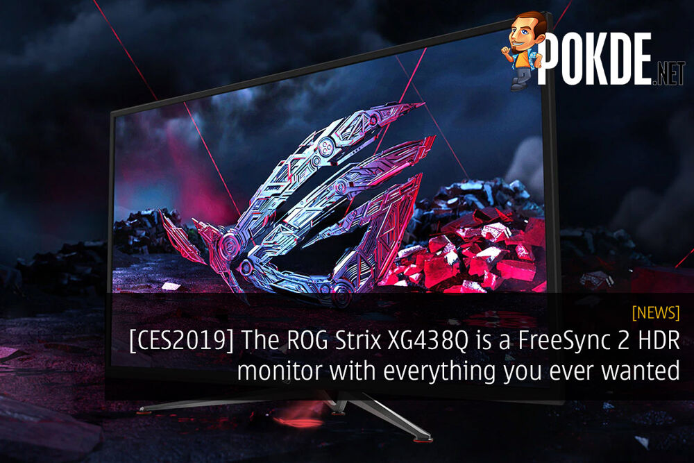 [CES2019] The ROG Strix XG438Q is a FreeSync 2 HDR monitor with everything you ever wanted in a gaming monitor 18