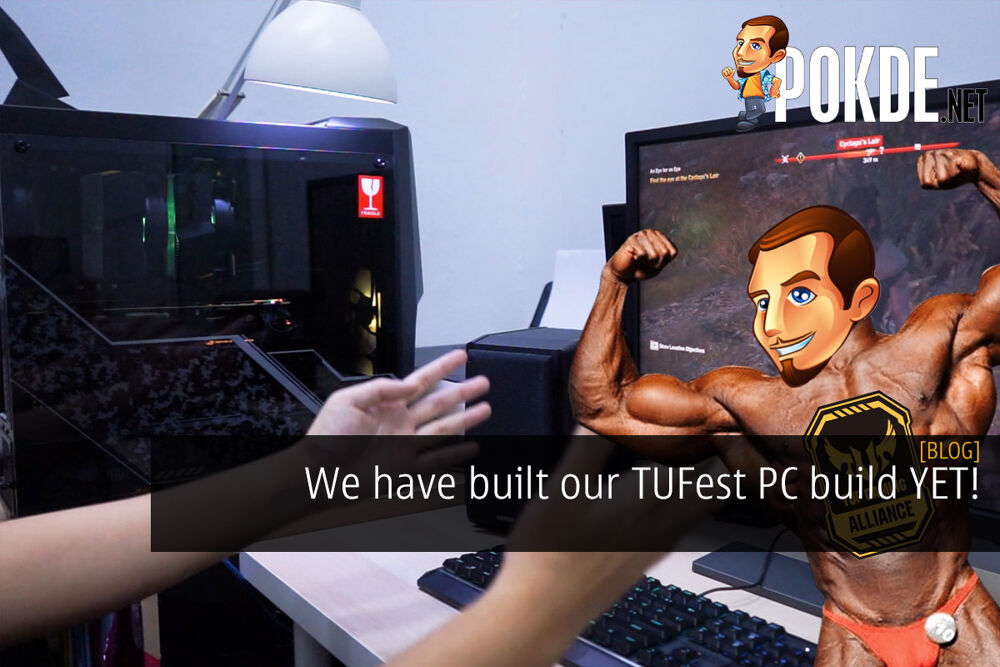 We have built our TUFest PC build YET! 22