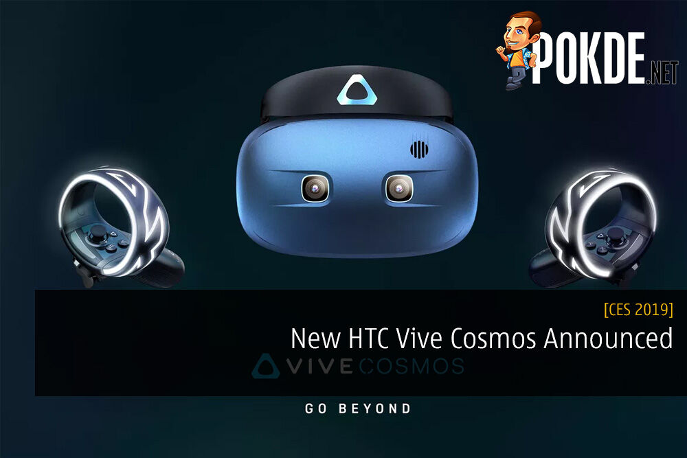 CES 2019 New HTC Vive Cosmos Announced