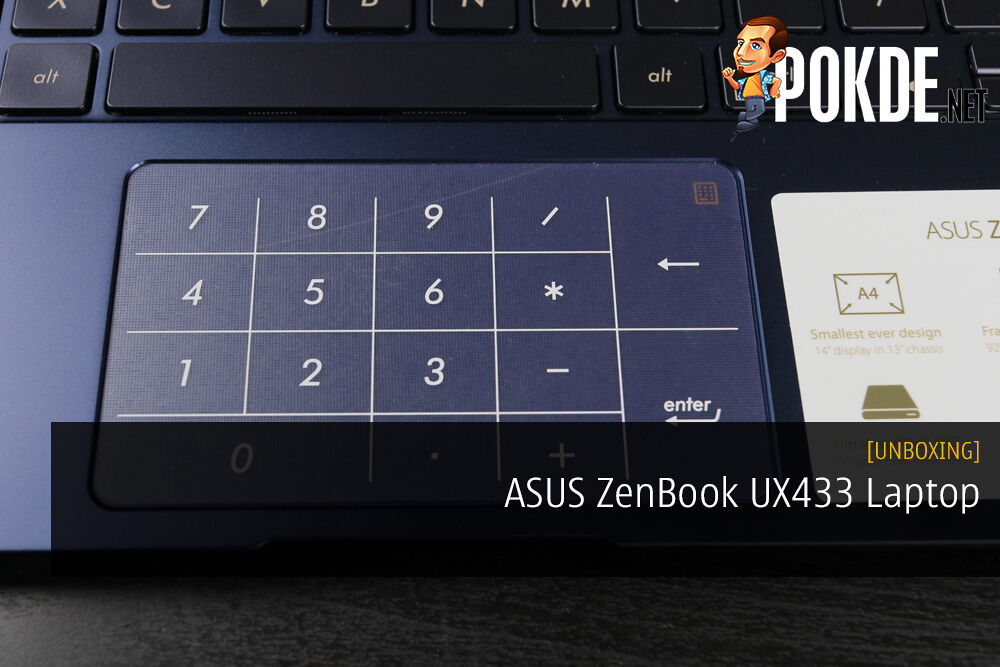 Unboxing the ASUS ZenBook UX433 Laptop