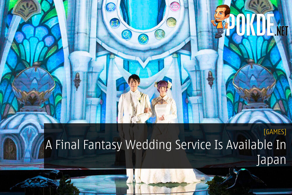 A Final Fantasy Wedding Service Is Available In Japan 26