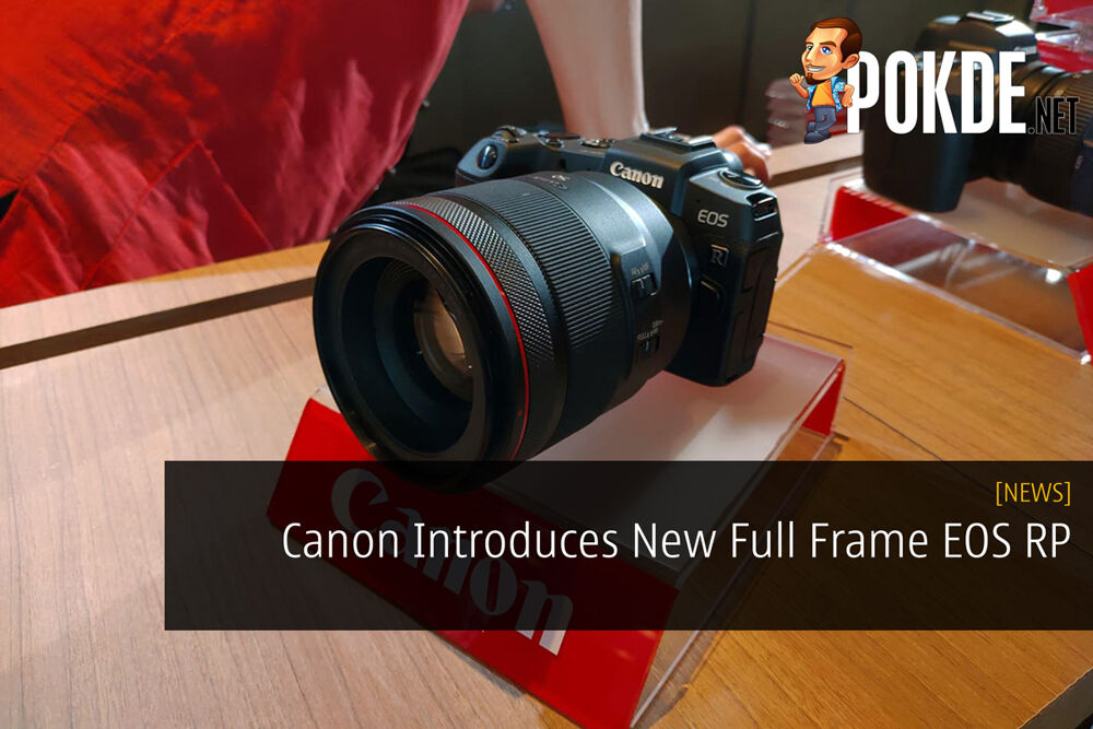 Canon Introduces New Full Frame EOS RP 29