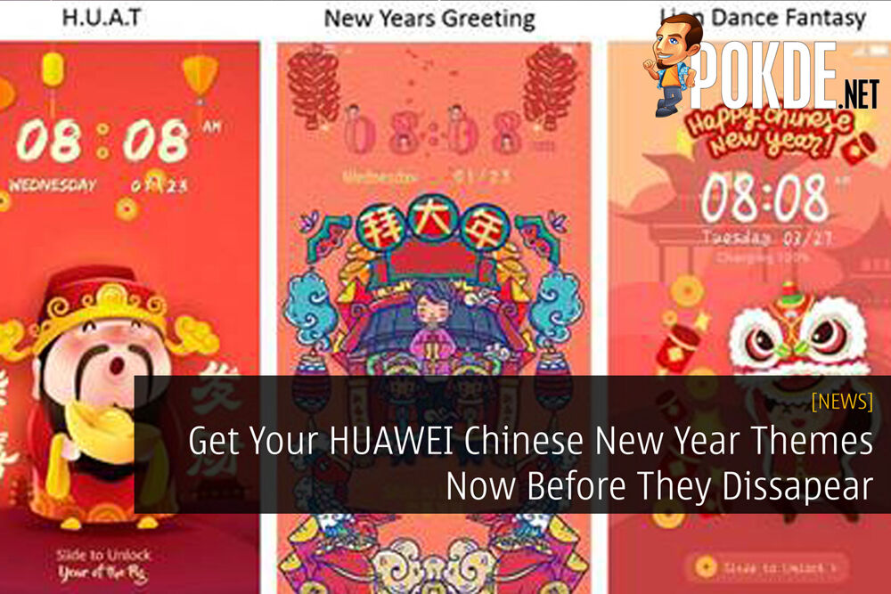 Get Your HUAWEI Chinese New Year Themes Now Before They Dissapear 29