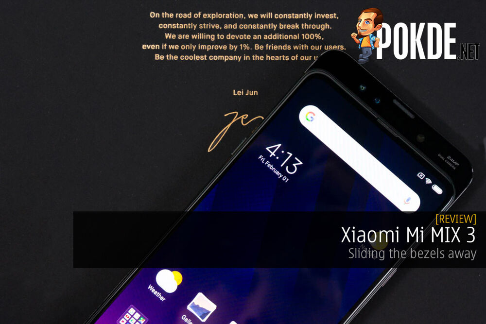 Xiaomi Mi MIX 3 review — sliding the bezels away 29
