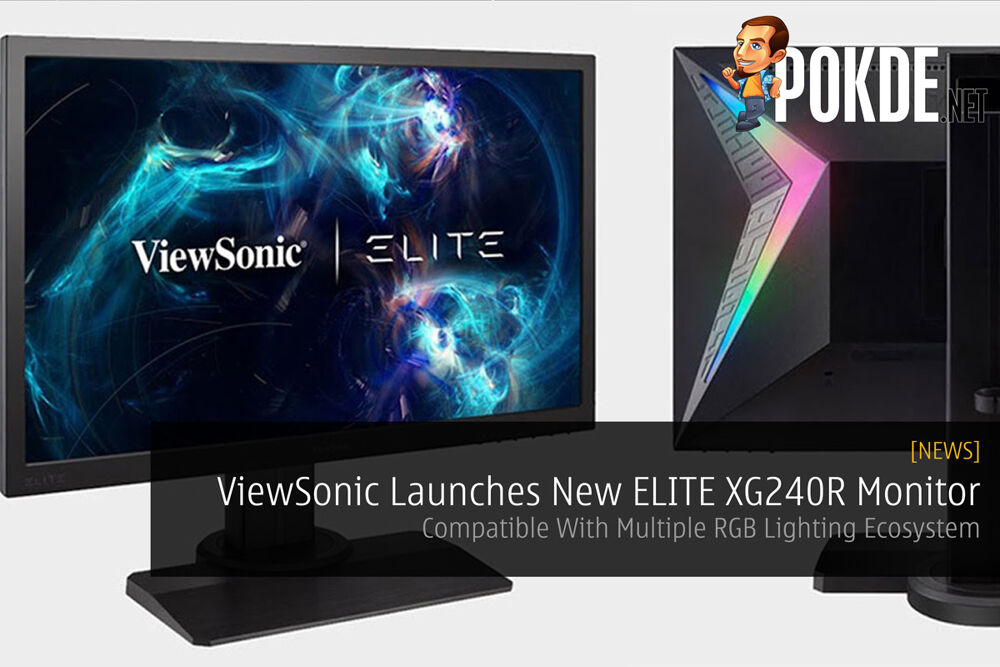 ViewSonic Launches New ELITE XG240R Monitor — Compatible With Multiple RGB Lighting Ecosystem 17