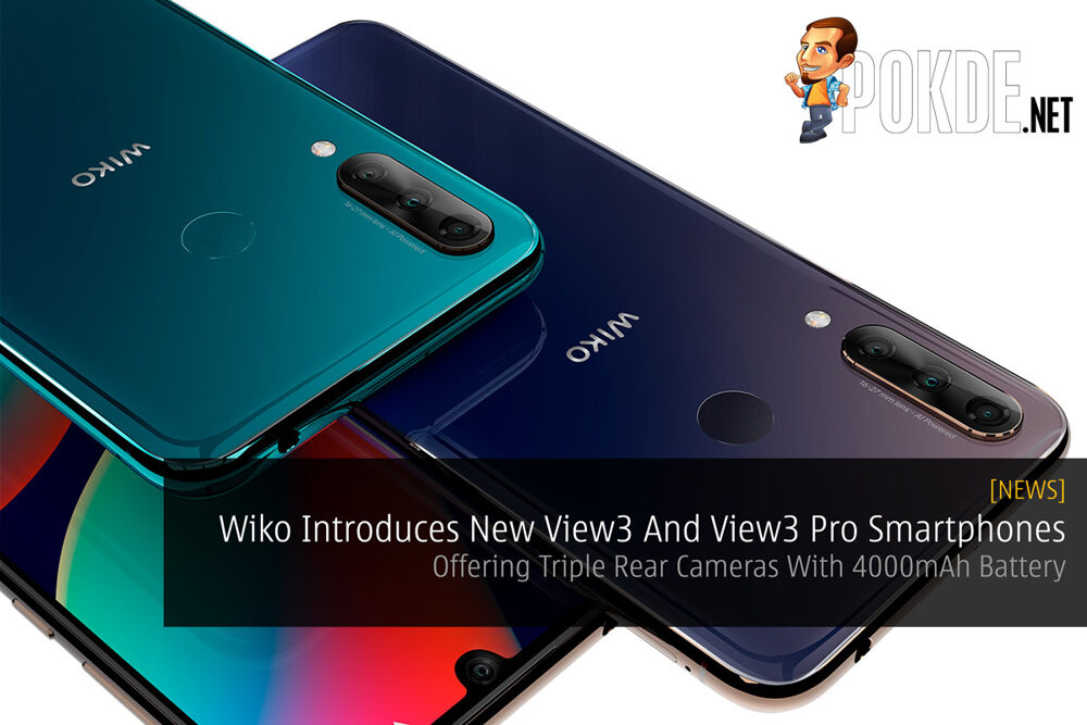 Wiko Introduces New View3 And View3 Pro Smartphones — Offering Triple Rear Cameras With 4000mAh Battery 21