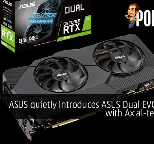 ASUS quietly introduces ASUS Dual EVO series with Axial-tech fans 32