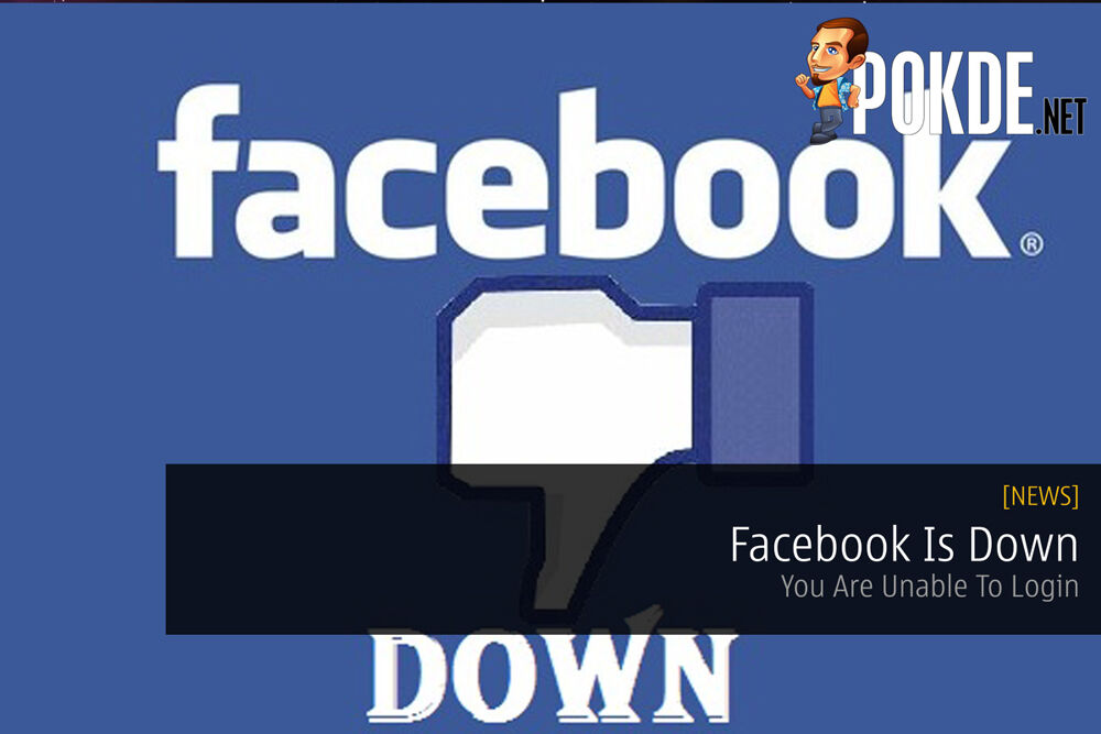 Facebook Is Down — You Are Unable To Login (UPDATED) 26