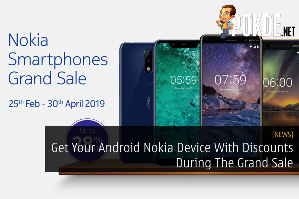 Get Your Android Nokia Device With Discounts During The Grand Sale 19