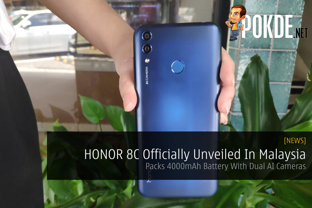 HONOR 8C Officially Unveiled In Malaysia — Packs 4000mAh Battery With Dual AI Cameras 20