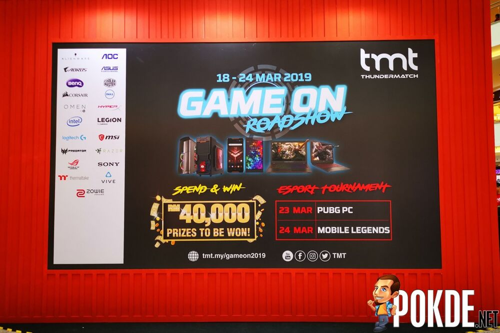 TMT Game On Roadshow Launches with Big Discounts on Gaming Products