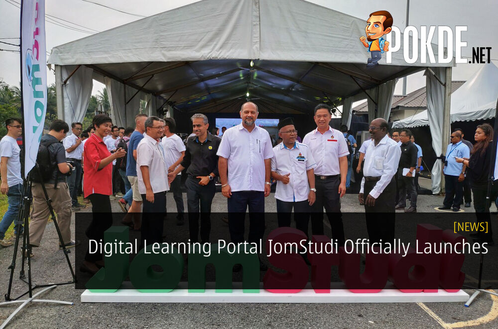 Digital Learning Portal JomStudi Officially Launches 19