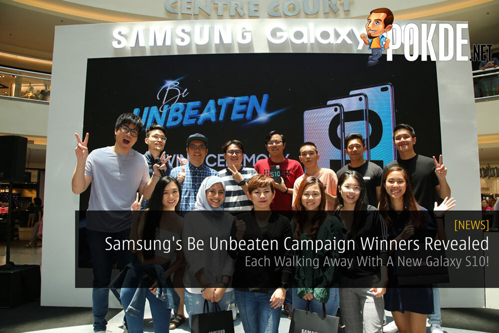 Samsung's Be Unbeaten Campaign Winners Revealed — Each Walking Away With A New Galaxy S10! 30