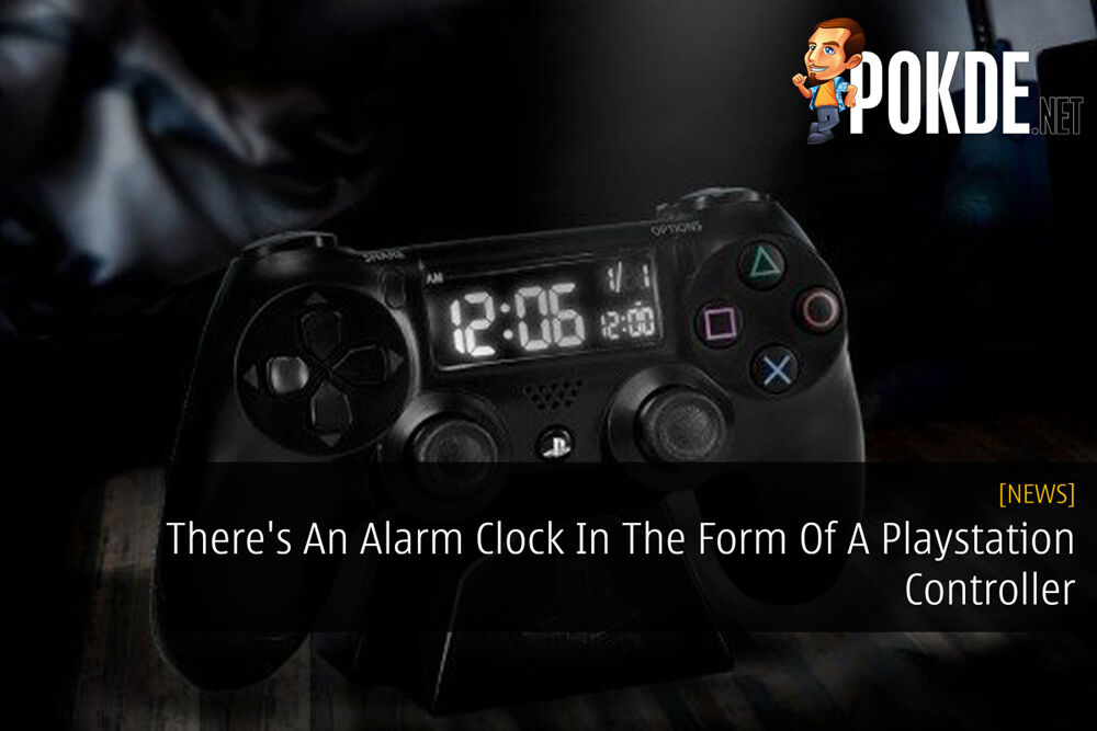 There's An Alarm Clock In The Form Of A Playstation Controller 23