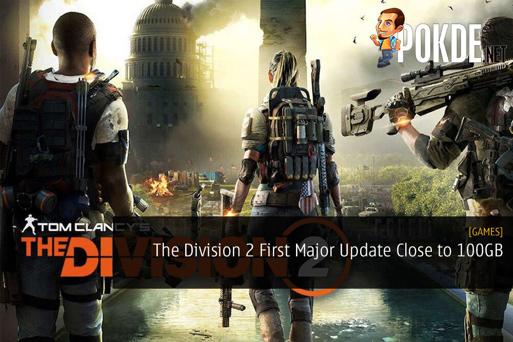The Division 2 First Major Update Will Be Close to 100GB
