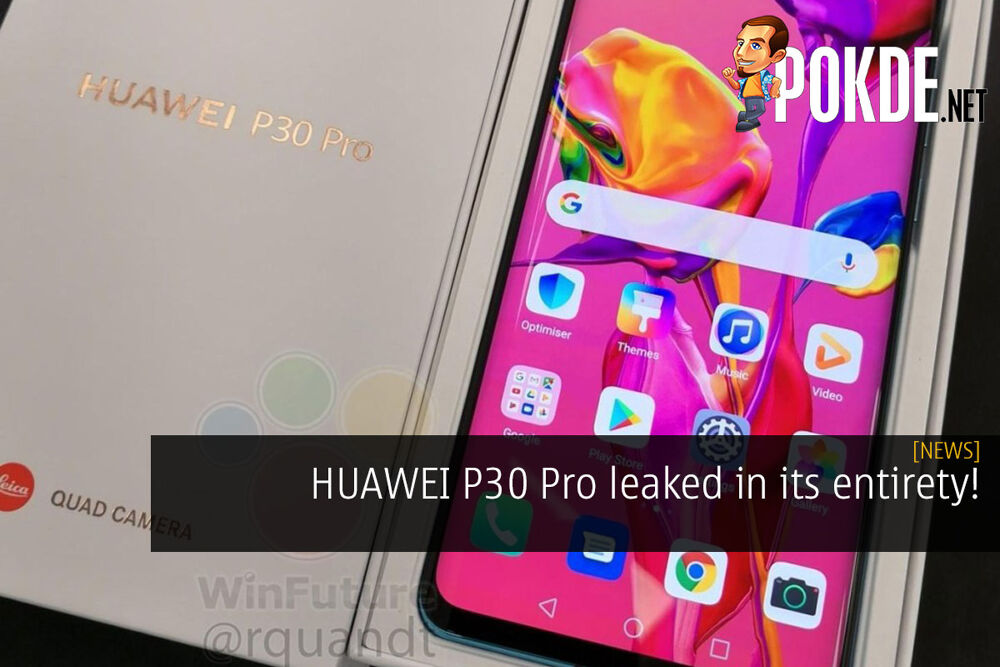 HUAWEI P30 Pro leaked in its entirety! 22