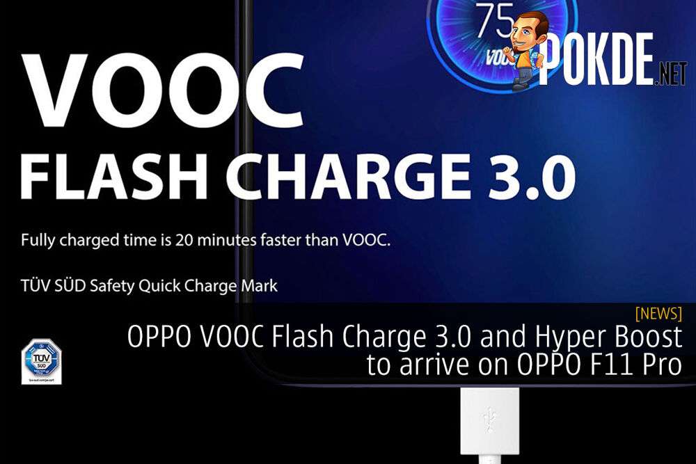 OPPO VOOC Flash Charge 3.0 and Hyper Boost to arrive on OPPO F11 Pro 22