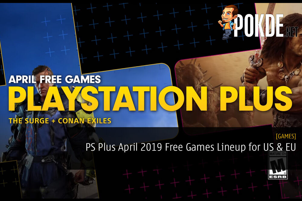 PS Plus April 2019 Free Games Lineup for US and EU Regions
