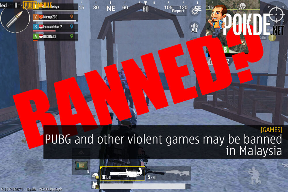 PUBG and other violent games may be banned in Malaysia 24