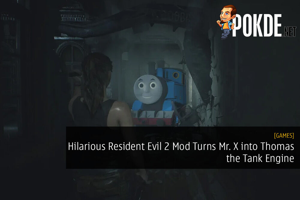 Hilarious Resident Evil 2 Mod Turns Mr X Into Thomas The Tank
