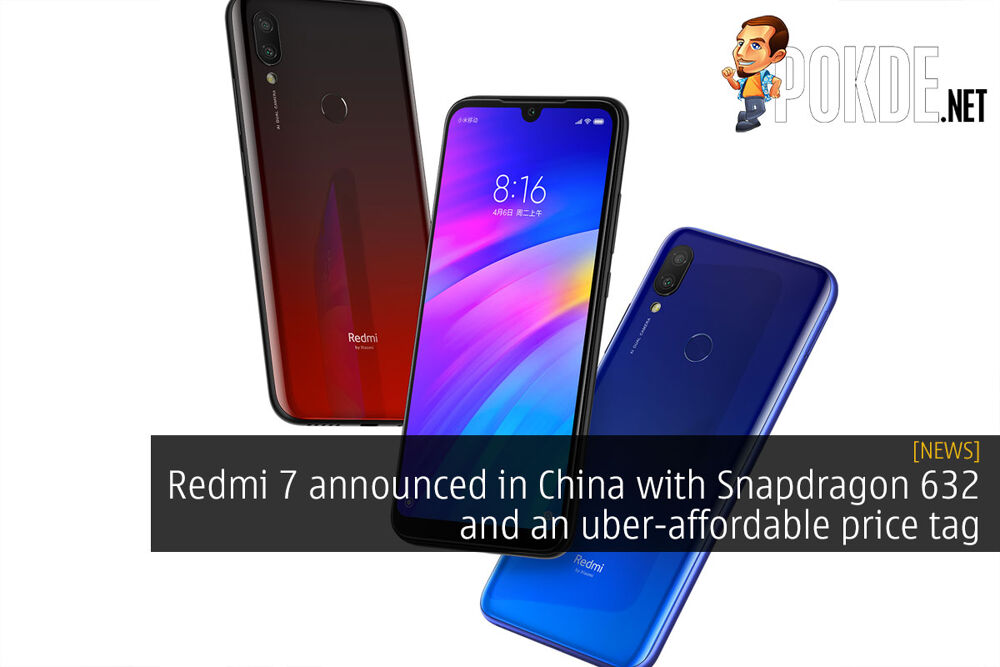 Redmi 7 announced in China with Snapdragon 632 and an uber-affordable price tag 19